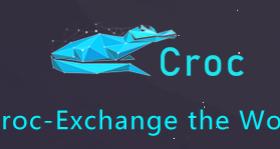 CROC交易所 – 注册实名领取100000个Crocodile(CROC) 币,0撸1200元