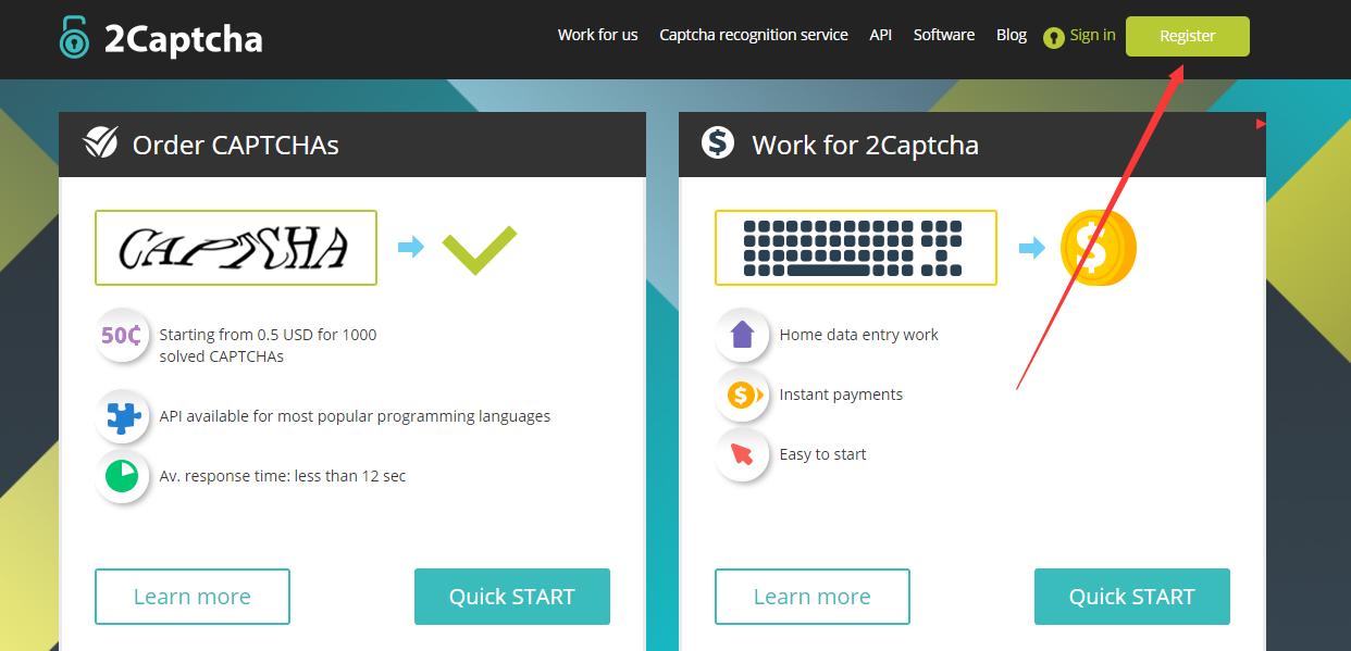 国外网赚项目教程_注册2captcha及充值使用教程详解 - |区块链空投网